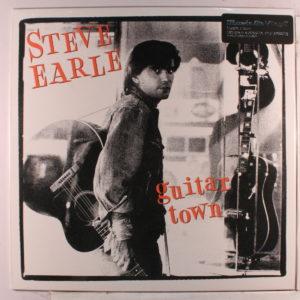 """Steve Earle gjorde en knalldebut med """"Guitar Town""""."""