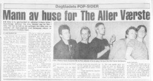 The Aller Værste-intervju i Dagbladet, 1981. (Foto: faksimile)