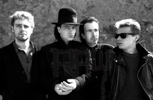 U2, slik de så ut for 30 år siden. (Foto: Neal Preston, www.therawgallery.com)