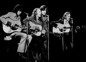 Crosby, Stills, Nash & Young i 1970 (Foto: Wikiemdia Commons)