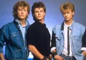 a-ha, slik de så ut da debutalbumet skulle slippes. (Foto: Warner Brothers)