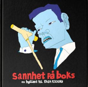 Raga Rockers blir hyllet med bok og LP/CD-boks. Her er coveret.