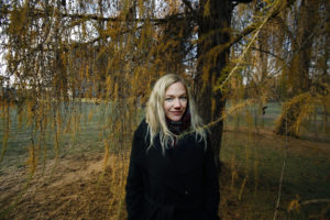 Oslo 26.11.2015 Maja Lunde vant bokhandlerprisen for romanen Bienes Historie foto Kristin Svorte