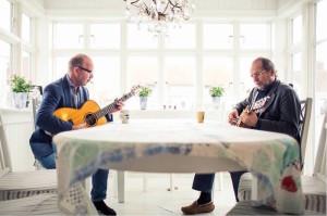 Etter fjorten år smører To Rustne Herrer leddene igjen med nytt show til høsten. (Foto: Stageway)