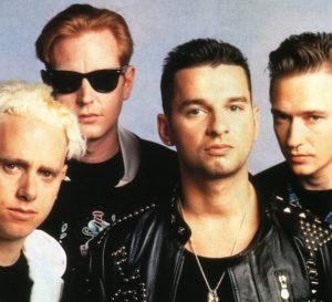 Depeche Mode er 1980-tallets synthkonger. (Foto: Wikimedia Commons)