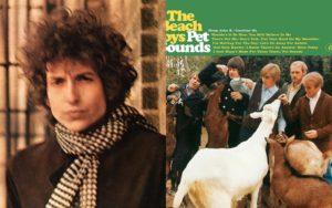 16. mai 1966 ble disse to platene gitt ut. To av rockens aller største klassikere - på samme dag! (Foto: platecovere)
