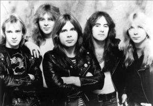 Iron Maiden er et av heavy-rockens nye, store navn. (Foto: All Music)