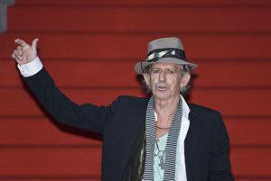 Keith Richards er 72 år. På samme alder er også de andre artistene som deltar på Desert Trip-festivalen i oktober. (Foto: Wikimedia Commons)