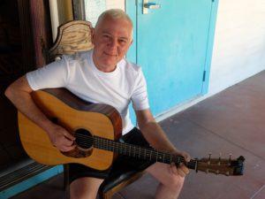Colin Goldie hevder at Gram Parsons forandret livet hans. (Foto: Leif Gjerstad)