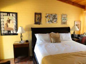 Rommet til Gram Parsons på Joshua Tree Inn. (Foto: Leif Gjerstad)