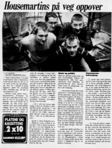Housemartins-intervju november 1986) (faksimile fra Haugesunds Avis)